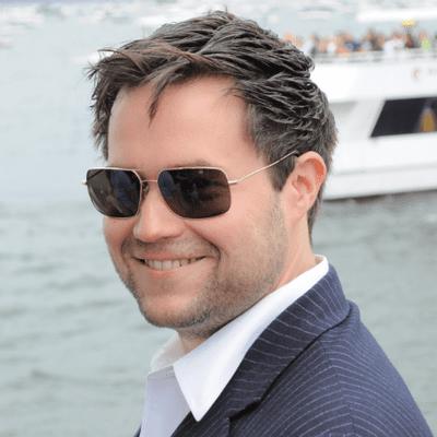 Scott Swanson on a Boat